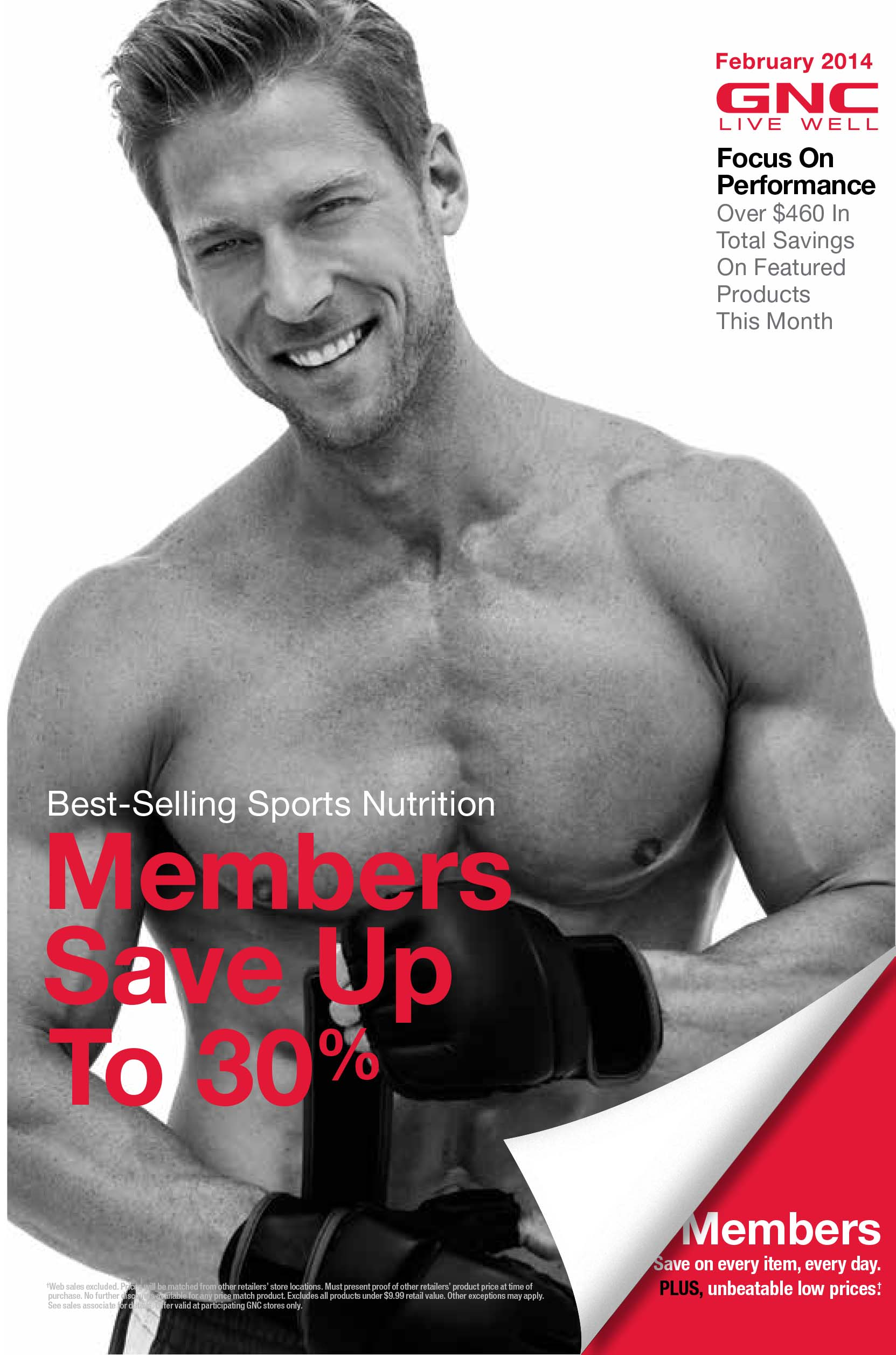 GNC February Promotion | Hemet Valley Mall