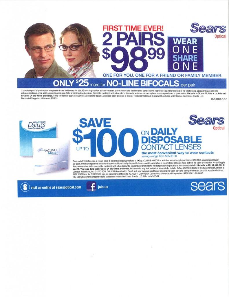 sears optical sales hemet valley mall